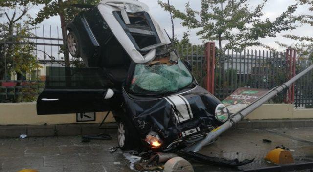 Kadıköy'de akıl almaz kaza