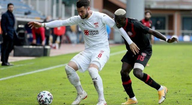 Karagümrük ve Sivasspor puanları paylaştı