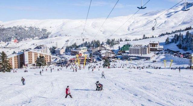 Kayak tesisleri yüzde 80 doluluk oranına ulaştı