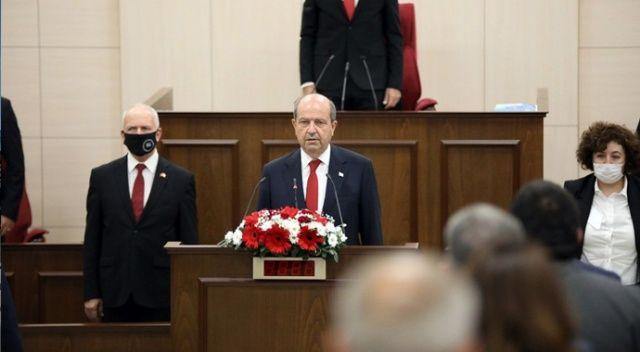 KKTC Cumhurbaşkanı Tatar, gündeme ilişkin açıklamalarda bulundu