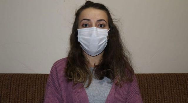 Koronavirüsü atlatan 24 yaşındaki Tuğba: Herkes 3 kurala dikkat etsin