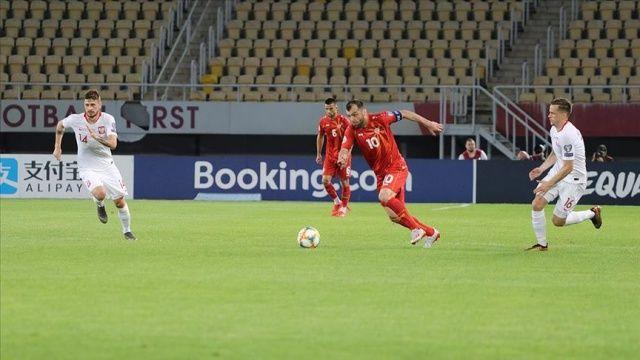 Kuzey Makedonya tarihinde ilk kez Avrupa Futbol Şampiyonası'nda