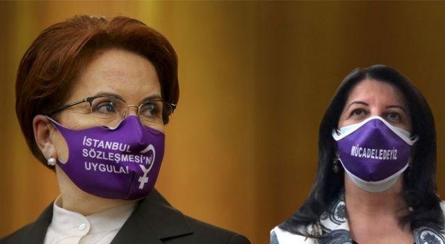 Meral Akşener ve Pervin Buldan aynı maske ile TBMM'de