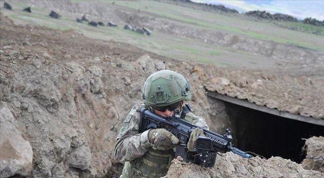 MSB:8 PKK/YPG'li terörist kazdıkları çukurda etkisiz hale getirildi