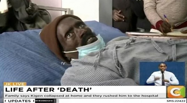 Öldü diye morga konuldu, 3 saat sonra canlandı