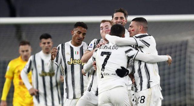 Ronaldo attı, Juventus Cagliari'yi 2 golle geçti