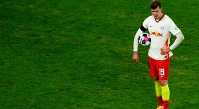Sörloth, Leipzig'in Bielefeld'i 2-1 yendiği maçta penaltı kaçırdı