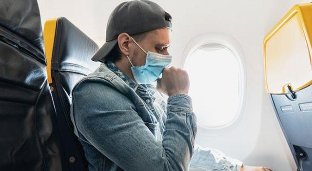 Testi negatif çıkan yolcu uçakta 4 kişiye Covid-19 bulaştırdı