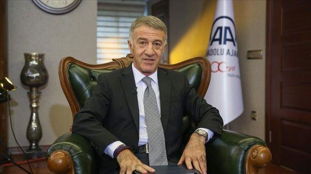 Trabzonspor Başkanı Ahmet Ağaoğlu: Abdullah Avcı en doğru isim