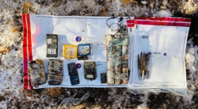 Tunceli'de teröristlerce kullanıldığı tespit edilen 14 sığınak imha edildi
