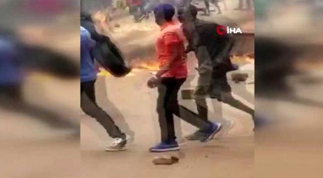Uganda'da cumhurbaşkanı adayının tutuklanması sokakları karıştırdı