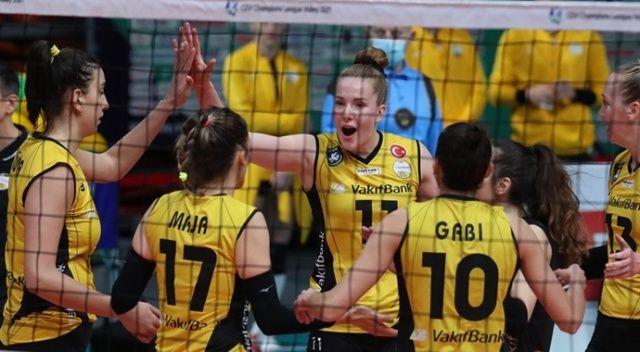 VakıfBank, Şampiyonlar Ligi'nde 2'de 2 yaptı