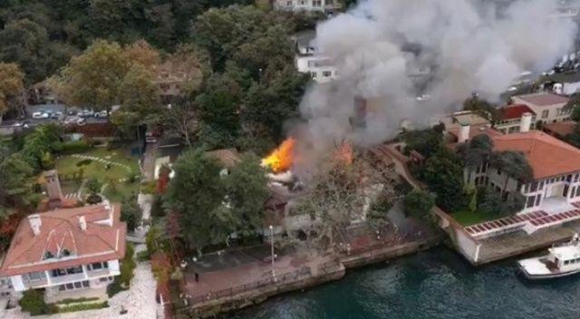 Vaniköy Camii yangınının nedeni belli oldu