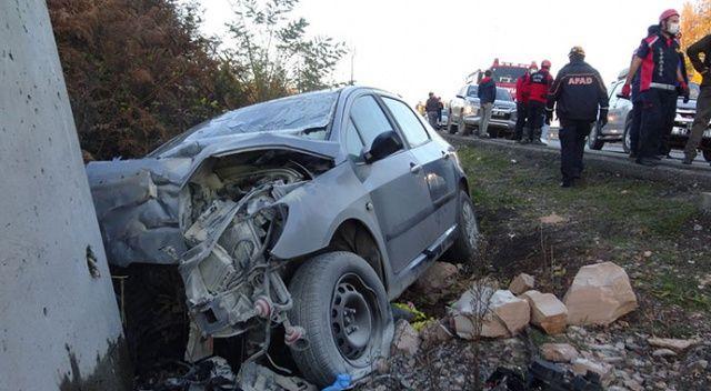 Zonguldak'ta feci kaza: 1'i bebek 3 ölü, 1 yaralı