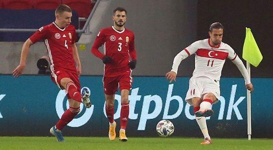 A Milli Futbol Takımı Macaristan'a 2-0 mağlup oldu