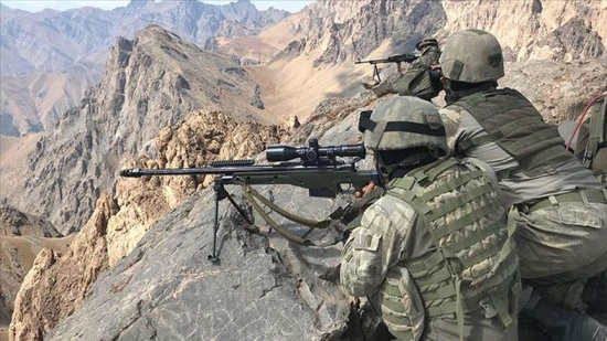 Hakkari Şemdinli sınır bölgesinde 5 PKK'lı terörist etkisiz hale getirildi
