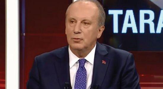 Muharrem İnce: Yalanın kurgu merkezi CHP Genel Merkezi