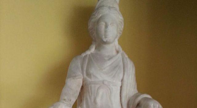 1700 yıllık Kybele heykeli Türkiye'de