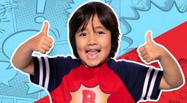 9 yaşındaki Ryan Kaji, YouTube'un en çok kazananı oldu