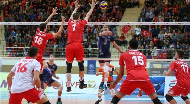 A Milli Erkek Voleybol Takımı 2021 Avrupa Şampiyonası Elemeleri maçlarını Üsküp'te oynayacak