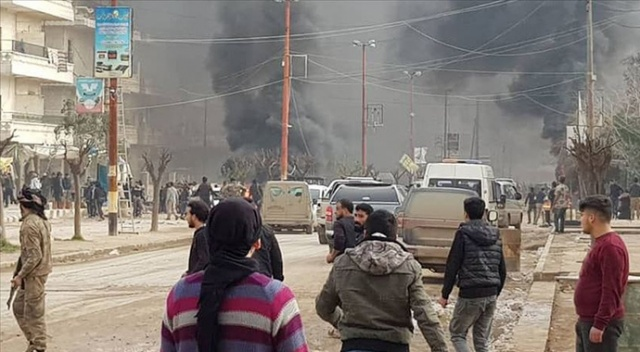 Afrin'de patlama: 1 ölü, 6 yaralı