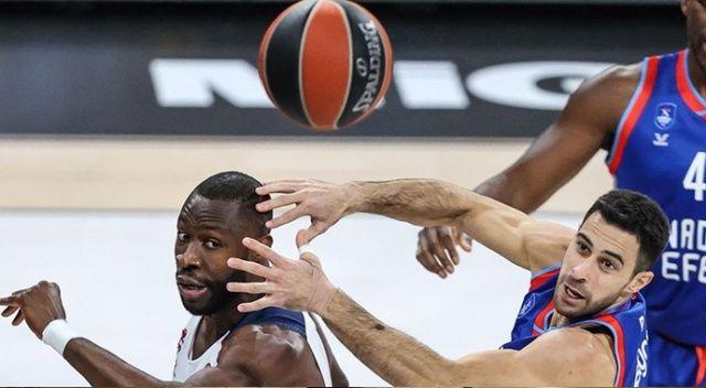 Anadolu Efes, TDS Baskonia'ya 77-59 yenildi