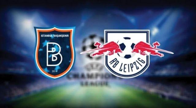Başakşehir, Şampiyonlar Ligi'nde Leipzig'e 4-3 mağlup oldu