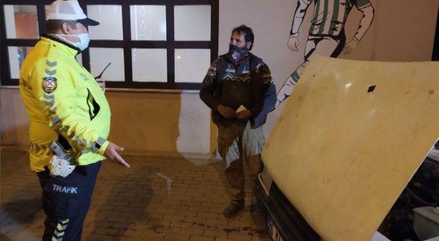 Bu sürücüye ne sorulsa yok dedi, polis de 6 bin 79 TL ceza kesti