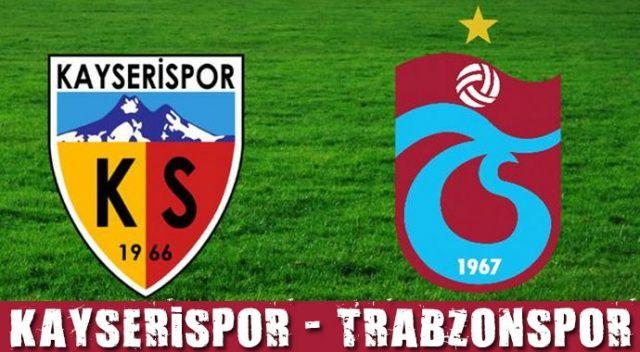 Kayserispor Trabzonspor şifresiz canlı izle (Kayseri TS maçı canlı skor kaç kaç)
