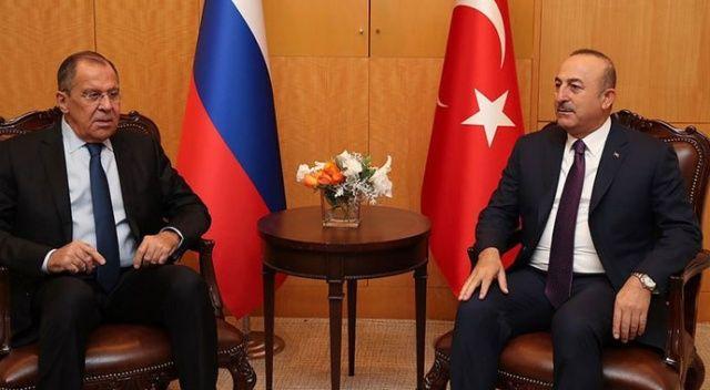 Çavuşoğlu, Lavrov ile Soçi'de görüşecek