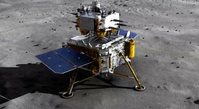 Çin'in Chang'e 5 uzay aracı Ay'a başarılı şekilde indi