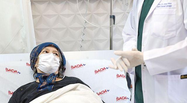 CovId-19'lu hastayı uyutmadan ameliyat ettiler