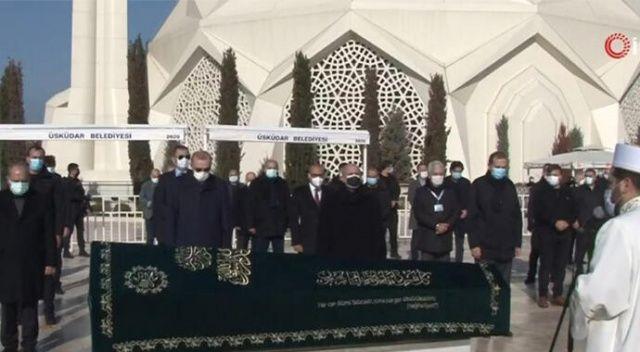 Cumhurbaşkanı Erdoğan Kıran Holding Onursal Başkanı Turgut Kıran'ın cenaze namazına katıldı