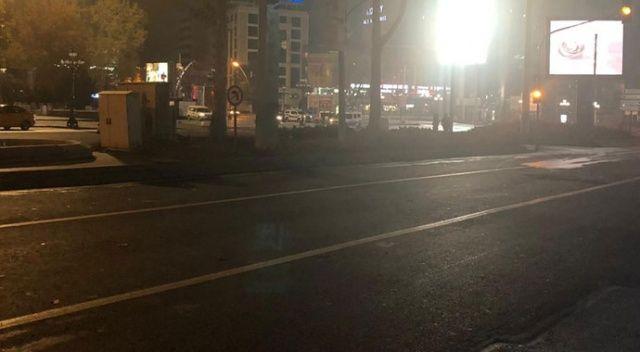 Dün akşam başlayan sokağa çıkma kısıtlaması sona erdi