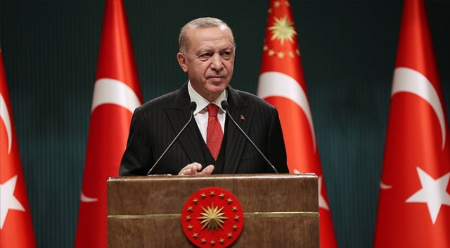 Erdoğan: Uluslararası toplum 21'inci yüzyılın en büyük küresel imtihanıyla karşı karşıya