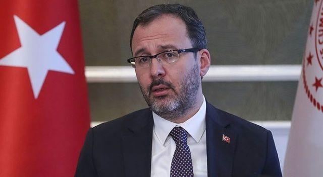 Gençlik ve Spor Bakanı Kasapoğlu'ndan burs müjdesi!