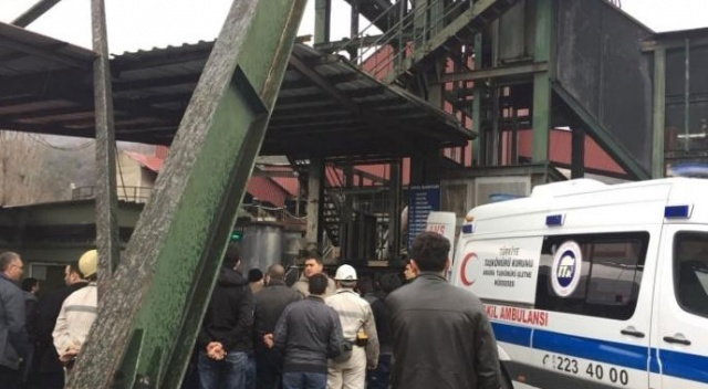 İşçileri taşıyan kafes arıza yaptı: 35 işçi kurtarıldı