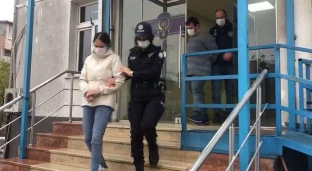 Karı koca lüks villayı uyuşturucu tarlasına çevirmiş