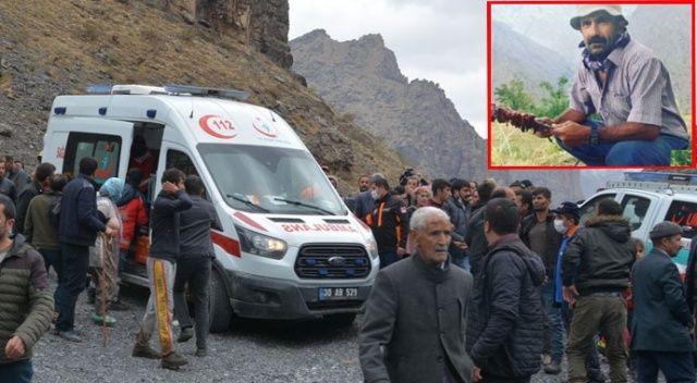 Kayıp hayvanlarını ararken düşen 5 çocuk babası hayatını kaybetti