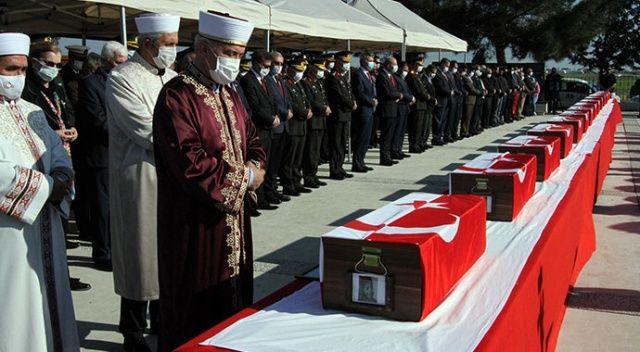 14 μάρτυρες που σκοτώθηκαν στην ΤΔΒΚ θάφτηκαν μετά από 46 χρόνια