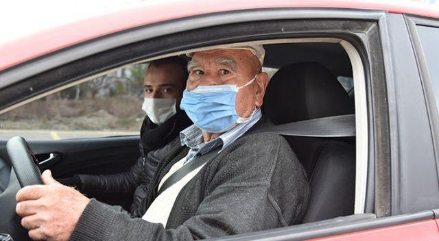 Koronavirüs 75 yaşında ehliyet sahibi yaptı