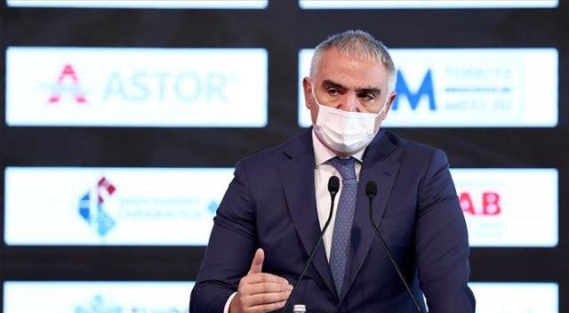 Kültür ve Turizm Bakanı Ersoy: Turizmde rakiplerimize göre daha az kayıp yaşayacağız