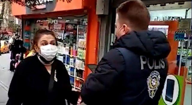 Polisi görünce maskesini taktı, 'Ben ne yaptım' dese de cezadan kurtulamadı