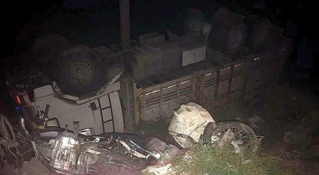 Söke'de kamyonun çarptığı motosiklet sürücüsü hayatını kaybetti