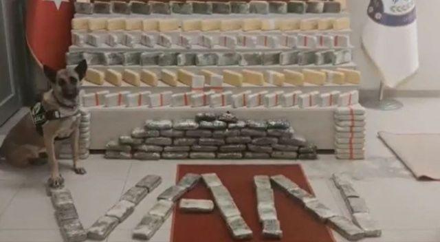 Van'da 81 kilo 780 gram eroin ele geçirildi
