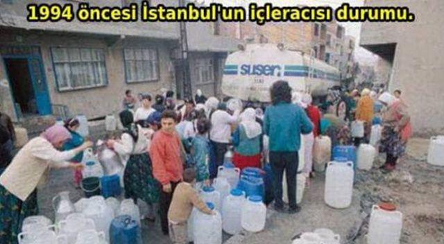 """Veysel Eroğlu: """"1994 öncesi İstanbul'u susuzlukla Kerbela'ya çeviren malum zihniyet yine susuzluktan bahsetmeye başladı"""""""