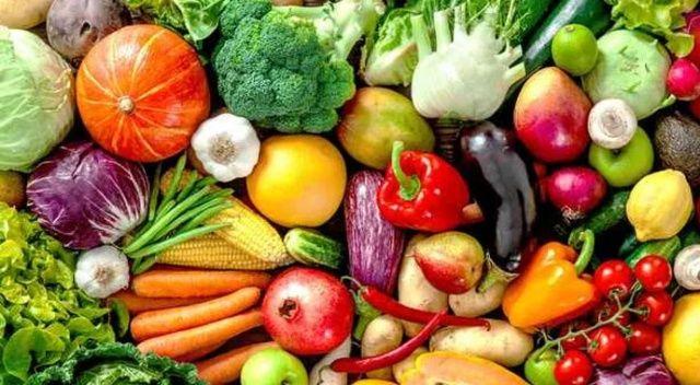 Vitamini sebze ve meyveden alın