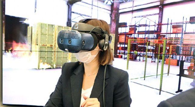 VR ile iş kazası riski sıfıra inecek