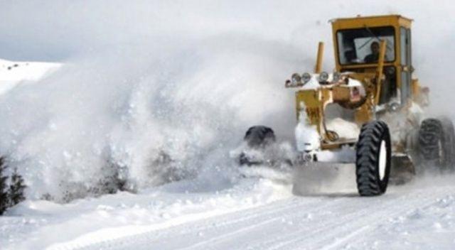140 köy yolu araç ulaşımına kapandı