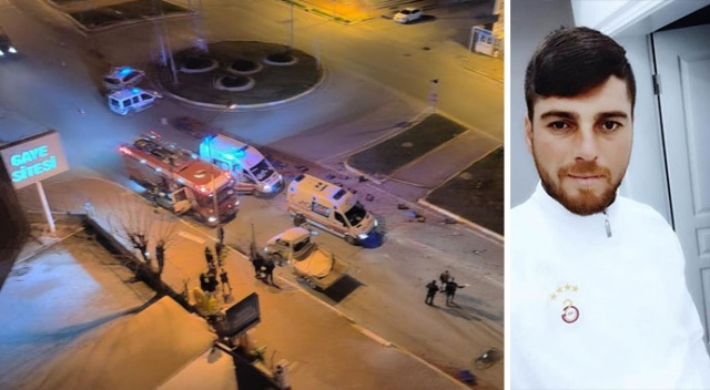 Antalya'da domates yüklü kamyonet otobüsle çarpıştı: 1 ölü, 2 yaralı